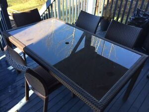 1 year old patio set