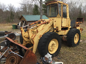 1976 Zettelmeyer front-end loader, parts or repair, needs engine