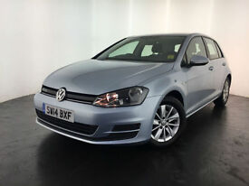 2014 VOLKSWAGEN GOLF BLUEMOTION TDI DIESEL 1 OWNER SERVICE HISTORY FINANCE PX