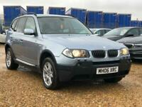2006 BMW X3 3.0d SE Auto 4WD 5dr SUV Diesel Automatic