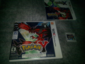 3DS Pokemon Games-- $150.00