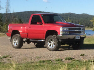 1991 Chevrolet Sidestep  Pickup Truck Lift Kit
