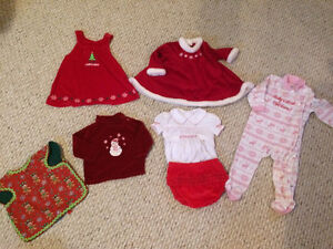 Baby Girl Christmas Lot (12 months)