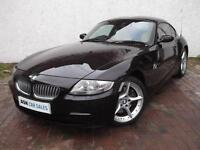 "BMW Z4 3.0si SPORT COUPE, JUNE 2017 MOT, ""INDIVIDUAL RUBY BLACK"", ONLY 66k MILES"