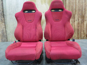 JDM 02-05 Honda Civic EP3 Type R Front Recaro Seats Civic SI-R