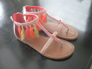 Justice Sandals-Size 5