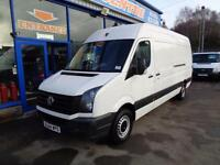 2015 VOLKSWAGEN CRAFTER CR35 136 BHP TDI LWB HI ROOF - UNDER VW WARRANTY TILL 20