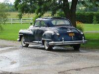47 Chrysler Windsor coupe