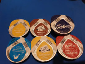 Lots of Tassimo Pods. Various flavours