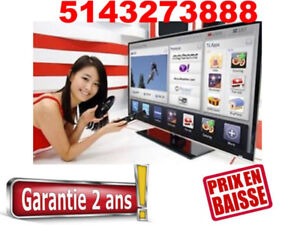LUNDI LIQUIDATION  TV SAMSUNG LG SMART LED TRES BON PRIX