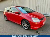 2003 03 HONDA CIVIC 2.0 TYPE-R EP3 200 BHP WITH 49K MILES 2 OWNERS