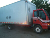 RED DEER EXPRESS MOVING CO. 17 FT CUBE VAN FOR HIRE $80/HR 2 MEN