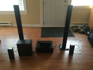 Pioneer 5.1 surround sound (all Panasonic speakers and sub) Belleville Belleville Area image 1