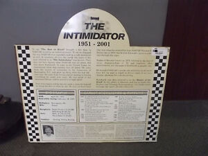 DALE EARNHARDT THE INTIMIDATOR 1951-2001 CARVING REPRODUCTION Windsor Region Ontario image 2