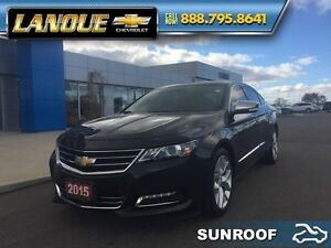 2015 Chevrolet Impala LTZ-One Owner-Sharp  - Sunroof - Leather S