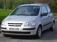 HYUNDAI GETZ 1.1 GSI LOW MILEAGE LONG MOT
