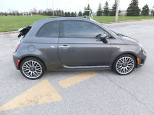 2014 Fiat 500c MINT Abarth, Convertible, GQ Edition, Turbo