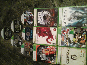 13 new xbox360 games grear condition