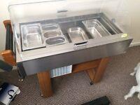 Fridge, washing machine, electric cooker, refrigerated salad unit