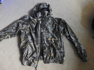 REMINGTON Hooded Thermal Camouflage Hunting Jacket