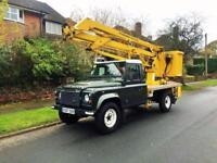 2007 Land Rover Defender TD5 CHERRY PICKER 2.5 2dr LHD LEFT HAND DRIVE