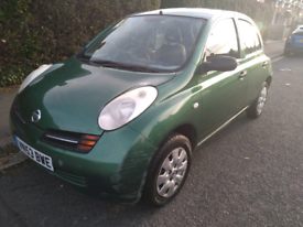 Nissan Micra 1.0 E, 5dr manual breaking for parts