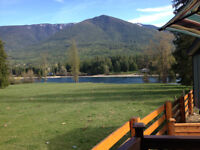 New Two Bedroom Park Model on titled Kootenay Lake near Nelson