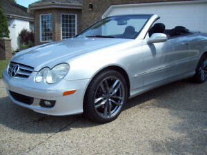 2007 MERCEDES CLK350 CONVERTIBLE with only 126500km! $12950!