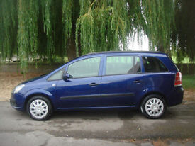 Vauxhall/Opel Zafira 1.6i 16v ( a/c ) 2007MY Life GUARANTEED CAR FINANCE TODAY