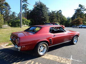 1969 Red Mustang 302 Coupe