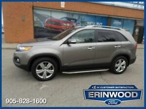 2013 Kia Sorento EXAWD V6 / PANO ROOF / LTHR / RV Cam / ALLOYS