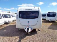 Sprite Alpine 2 - Used 2 Berth - Tourer Caravan 2012