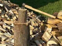 WELL SEAEONED FIREWOOD SPLIT AND READY FOR BURNING