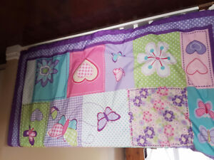 Girl's Twin Butterfly Bed Set