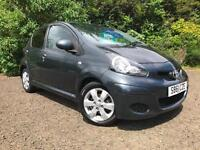 *12 MTHS WARRANTY*2011(61)TOYOTA AYGO 1.0 VVTI-GO TOM WITH SAT NAV*CHEAP TAX*