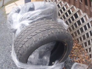 USED TIRES  205 55 I6 INCH WINTERS STUDDED