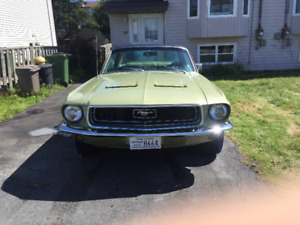 1968 ford mustang completely restored