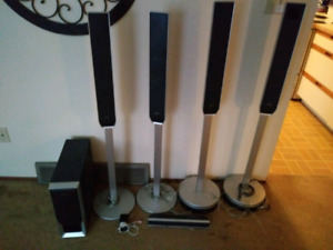 6pc Sony floor speakers