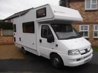 2007. Elddis Autoquest 130, 5 BERTH, END KITCHEN, 4 SEAT BELTS, LOW MILEAGE