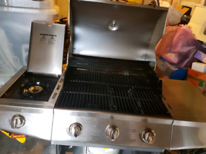 Brand new stainless steel  BBQ & tank