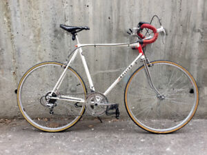 Large vintage 12-speed Raleigh 101 racer/urban commuter