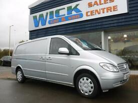 2010 Mercedes-Benz VITO 111 CDI EXTRA LONG LWB Van *LOW MILES* Manual Medium Van