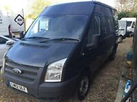 FORD TRANSIT 300 125tdci mwb med roof, air con, Grey, Manual, Diesel, 2012
