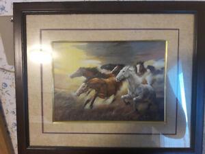Horse Stampeding On the Wind
