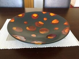 Large Poole Pottery Charger