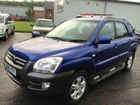 0505 Kia Sportage 2.0CRDi XE Blue 5 Door