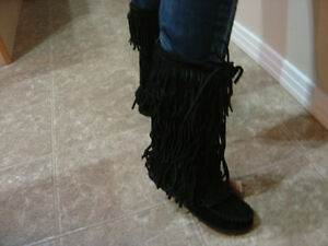 New Designer Boots-  Ladies size 7  - Ladies size 8 Strathcona County Edmonton Area image 2