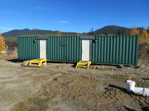 Steel Shipping Container Dryroom/Shower Unit