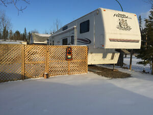 CANDLE LAKE CAMPER ON LEASED LOT