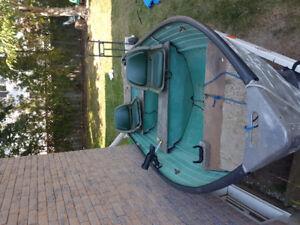 12 ft Crestliner boat and trailer